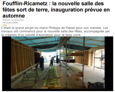Article salle