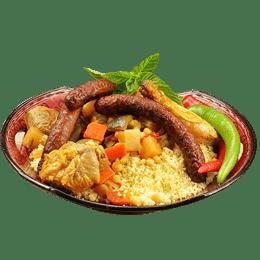 Plat couscous merguez 1